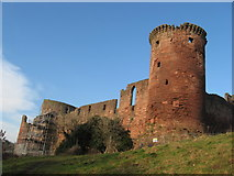NS6859 : Bothwell Castle by frank smith