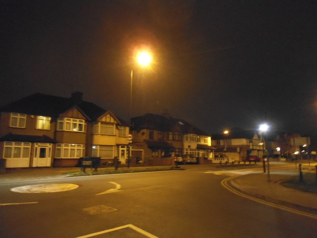 Stag Lane at the junction of Carlisle Road