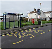 SS8178 : Seagull bus stop, Porthcawl by Jaggery