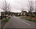 ST2887 : Tree-lined Melbourne Way, Newport by Jaggery