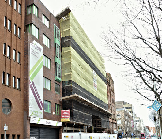 Nos 5-7 Brunswick Street, Belfast (March 2017)