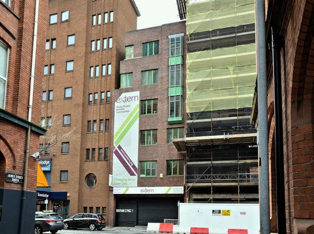 Nos 9-11 Brunswick Street, Belfast (March 2017)