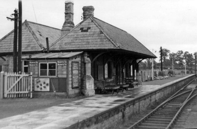 Faringdon station,1950