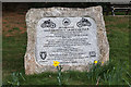 SW8231 : Plaque, Falmouth, Cornwall by Christine Matthews
