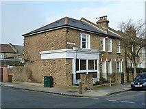 TQ4077 : Former corner shop, Hassendean and Lyveden Roads by Robin Webster