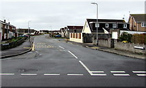 SS8178 : West along Sandpiper Road, Porthcawl by Jaggery