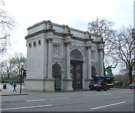TQ2780 : Marble Arch, London W1 by JThomas