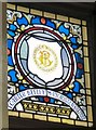 SJ9494 : Mayoral Window: T Carter Beeley by Gerald England