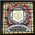 SJ9494 : Mayoral Window: Jonathan Bailey by Gerald England