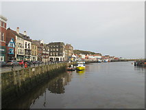 NZ8911 : West side of Whitby harbour by John Slater