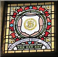 SJ9494 : Mayoral Window: John W D Barron by Gerald England