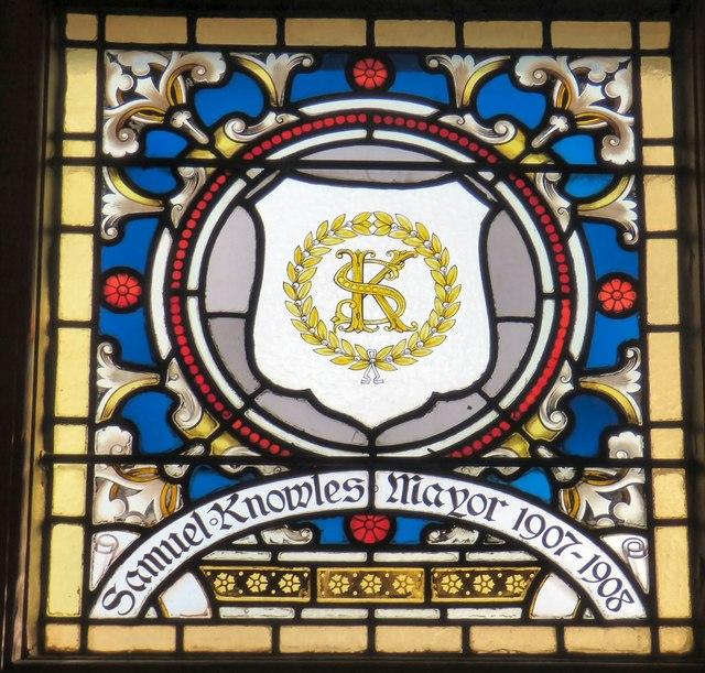 Mayoral Window: Samuel Knowles