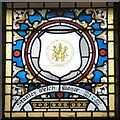 SJ9494 : Mayoral Window: Stanley Welch by Gerald England