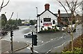 SJ6966 : Pub and road junctions, Middlewich by Jonathan Hutchins