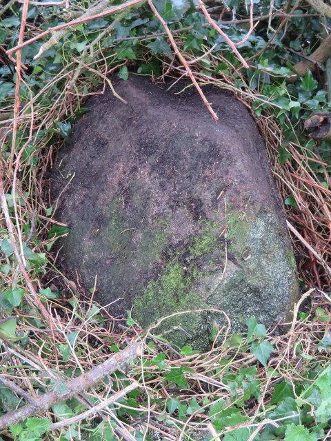 Boundary stone west of Criccieth