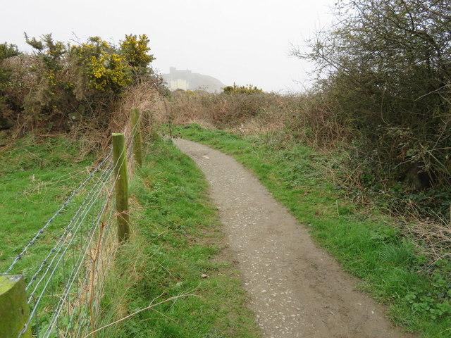 Wales Coastal Path west of Criccieth