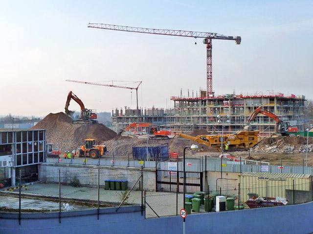 Demolition and construction, Kidbrooke