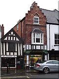 SJ0566 : Two old buildings, Denbigh by Eirian Evans