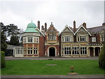 SP8633 : Bletchley Park Mansion by Roy Hughes