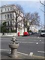 TQ2480 : Old Drinking Fountain, Ladbroke Grove by Des Blenkinsopp