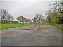 ST6288 : Alveston, play area by Mike Faherty