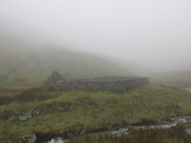 Sheepfold by Red Gill Beck