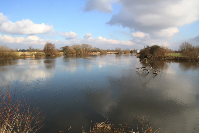 Confluence of the Rivers Derwent and Trent
