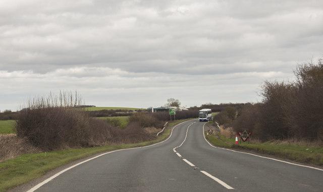 A165 New Cut towards Barmston