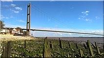 TA0225 : The Country Park Inn and Humber Bridge by Chris Morgan