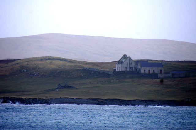 Cloudin, on the island of Vaila, from Burrastow