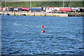 """T1313 : Rosslare Europort, Red Buoy """"Number 2"""" by David Dixon"""