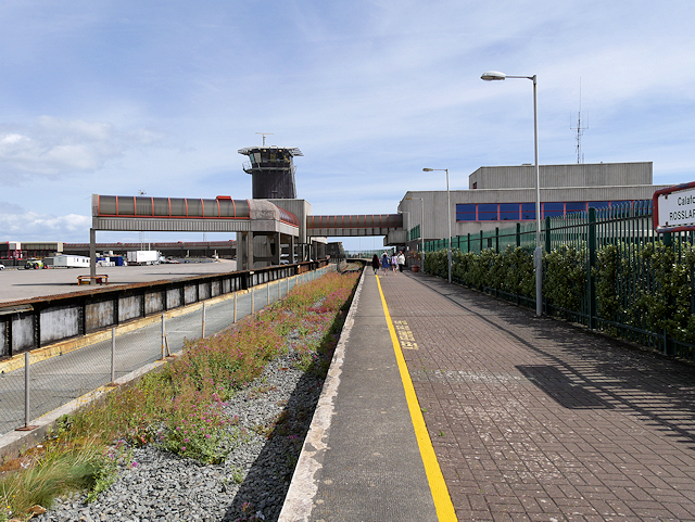 Former Rail Station at Rosslare Terminal