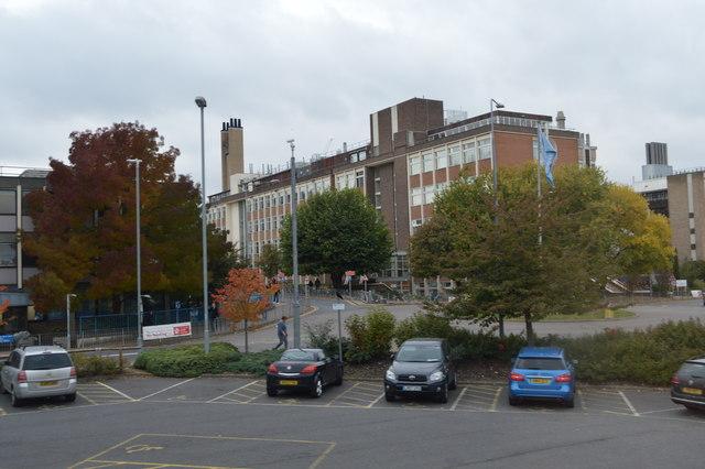 Addenbrooke's Hospital by N Chadwick