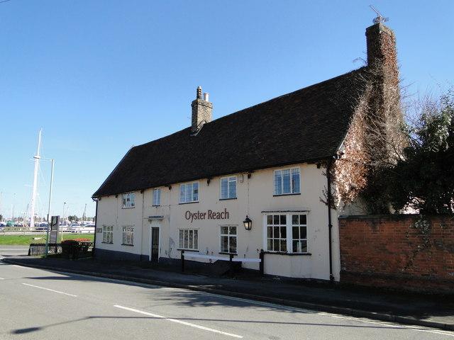 The 'Oyster Reach' public house