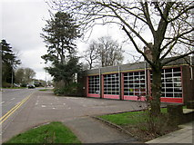 SP8633 : Bletchley Fire Station by Roy Hughes