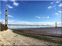 TA0225 : Humber Bridge by Graham Hogg