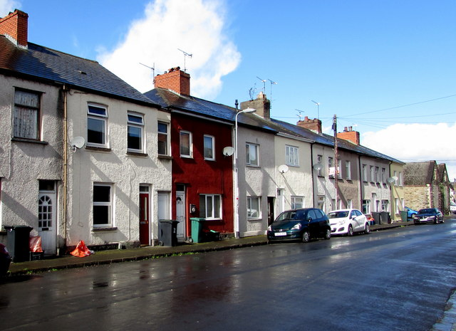 West side of Prince Street, Newport by Jaggery