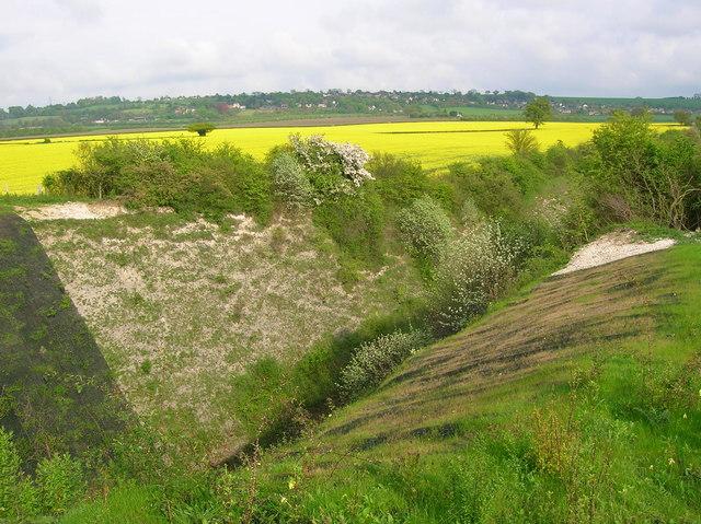 Railway cutting south of Saunderton Tunnel