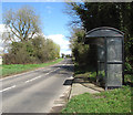TG1900 : Bus shelter in Norwich Road, Mulbarton by Evelyn Simak