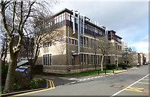 NS5666 : Joseph Black Building, University of Glasgow by Thomas Nugent