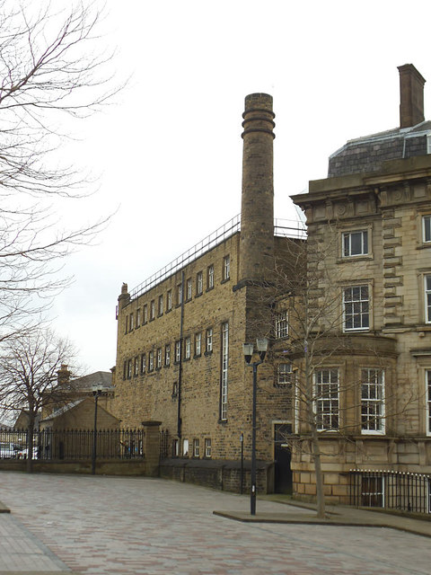 The back of the George Hotel, Huddersfield