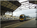 SE1416 : Manchester train at Huddersfield  by Stephen Craven