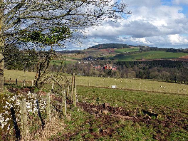 Farmland on Easter Hill
