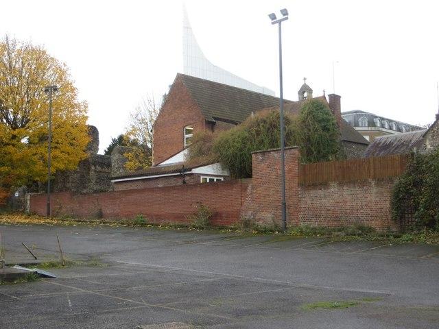 Back of St James