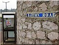 SX9064 : Road name, Barton Road, Torre by Derek Harper