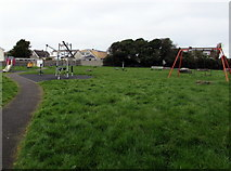 SS8178 : Children's playground, Nottage, Porthcawl by Jaggery