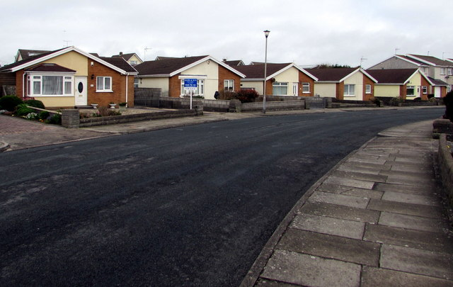 Anglesey Way bungalows, Nottage, Porthcawl