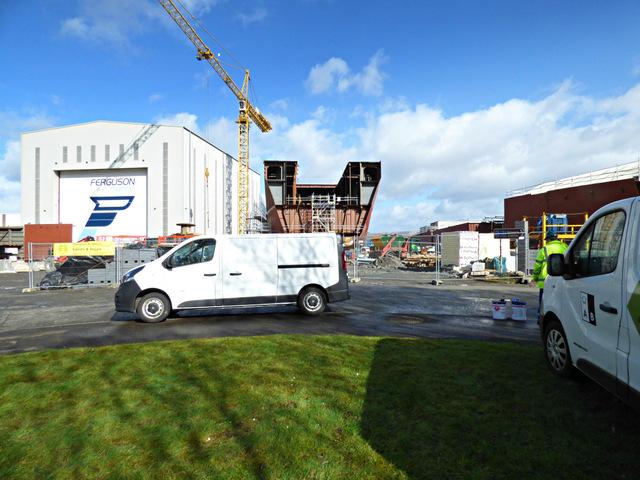 Ferguson Marine shipyard reconstruction