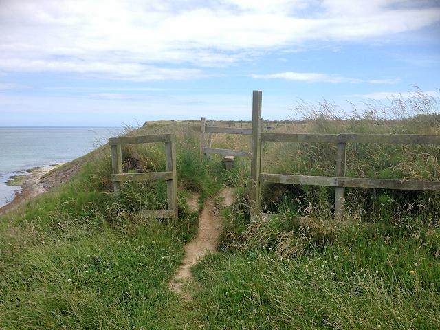 Stile on South Wexford Coastal Path