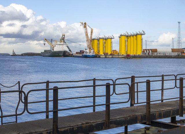 Dock gate, Belfast Dry Dock